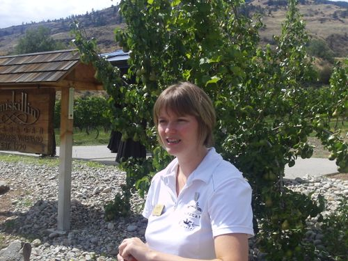 Joann Peachey takes for a tour and tasting
