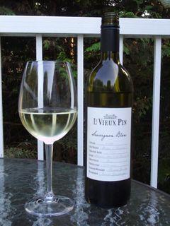 Le Vieux Pin Sauvignon Blanc 2008