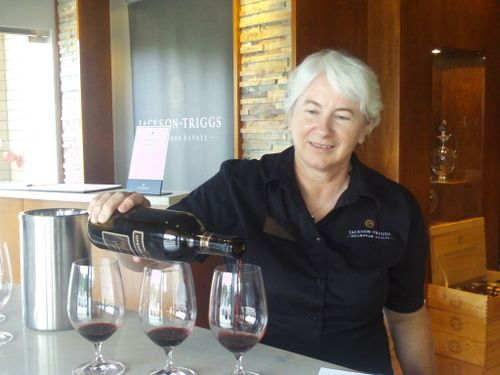 Suzanne Coles of Jackson-Triggs Okanagan Estate