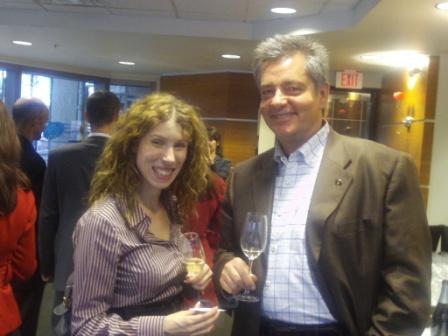 Sarah McCauley and Harry Hertscheg