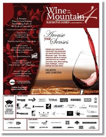 Wine on the Mountain 2009