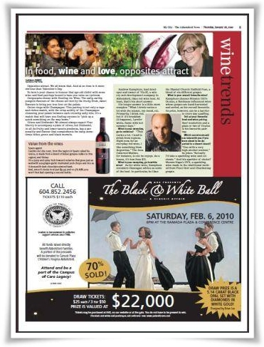 My City Wine Column January