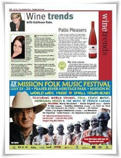 My City Wine Column June 26 2010