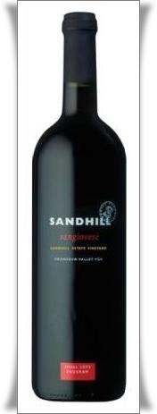 Sandhill Sangiovese 2007=framed