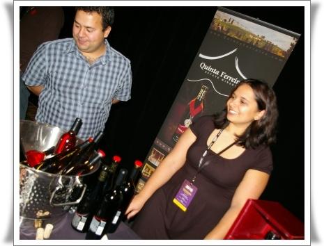 Michael Ferreira, Winemaker Nicole Ferreira, Marketing Quinta Ferreira Estate Winery