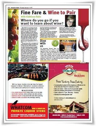 My City Wine Column Feb 2011