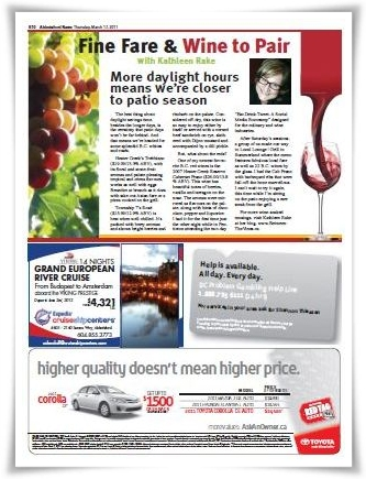 My City Wine Column Mar 2011