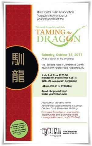 2011 Crystal Gala - Taming the Dragon