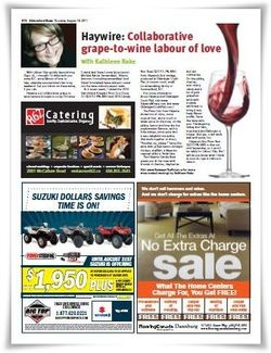 My City Wine Column August 2011