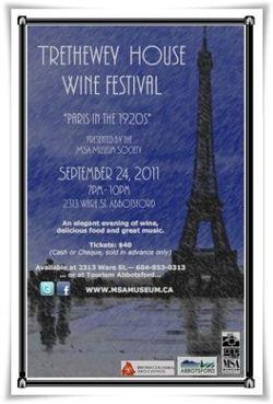 Trethewey House Wine Festival 2011