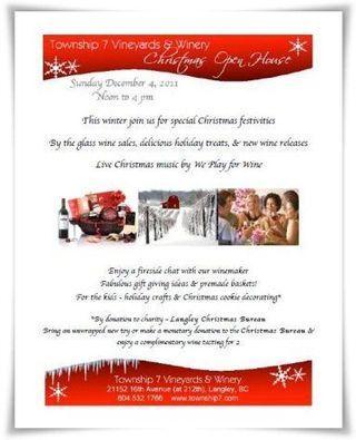 Township 7 Christmas Poster 2011