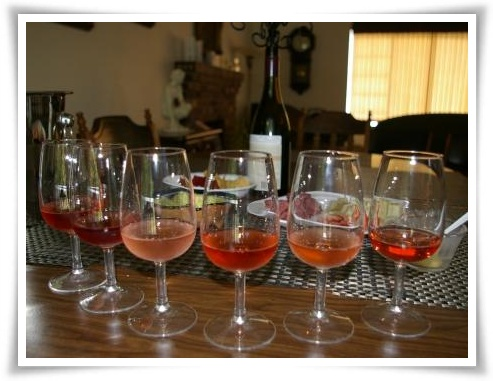 Rose Wines Vary in Colour