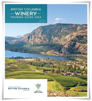 BC Winery Touring Guide 2012
