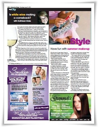 My City Wine Column June 2012