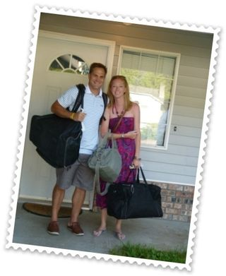 Steven and Andrea are off to the Okanagan