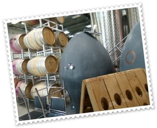 Wooden barrels, concrete eggs, and riddling racks--oh, my!