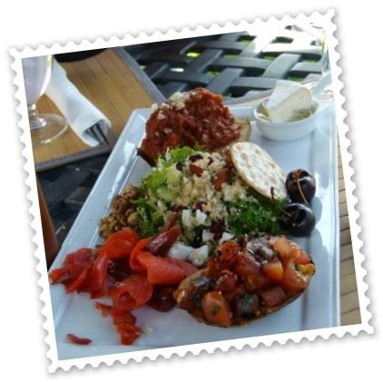 Tasting platter at Nk'Mip
