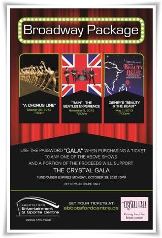 Broadway Package Flyer