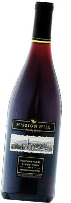 Mission Hill Family Estate Five Vineyards Pinot Noir 2010 / Photo credit: B.C. Liquor Stores