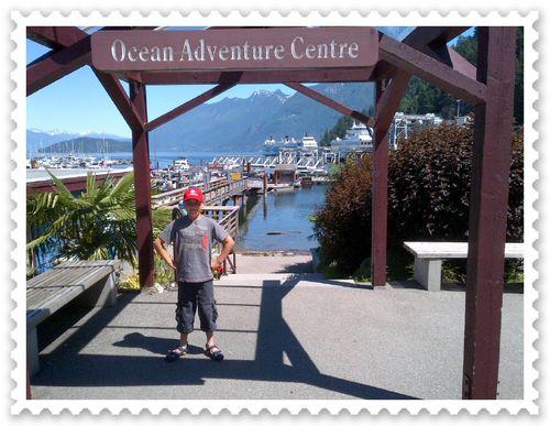 10-year-old Josh at Horseshoe Bay