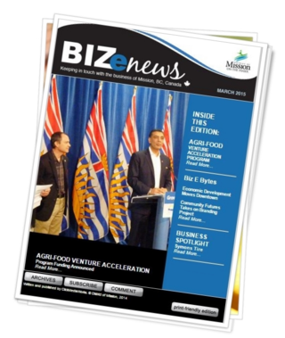 Go ahead! Click on this image to read the March 2015 issue of Mission BIZeNews!